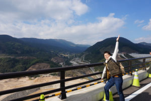 ダムは広いぞ!大きいぞ!五ケ山ダムを歩いて巡って。