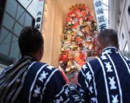 博多祇園山笠 飾り山づくり体験