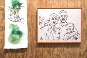 【こととばギャラリー】9/1(土)〜Miho Ishiiさんの刺繍作品展示が始まります