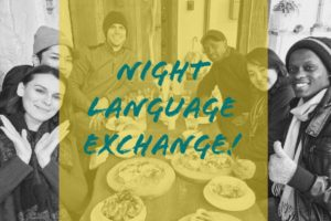 【Every month forth sunday】Night Language Exchange!